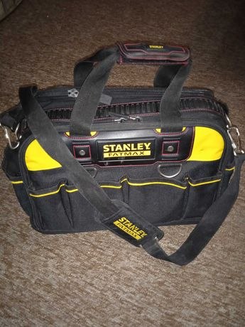 Сумка STANLEY FatMax, 430x280x300 мм, двусторонняя.
