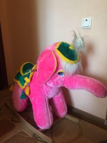 Слоник-гойдалка іграшка