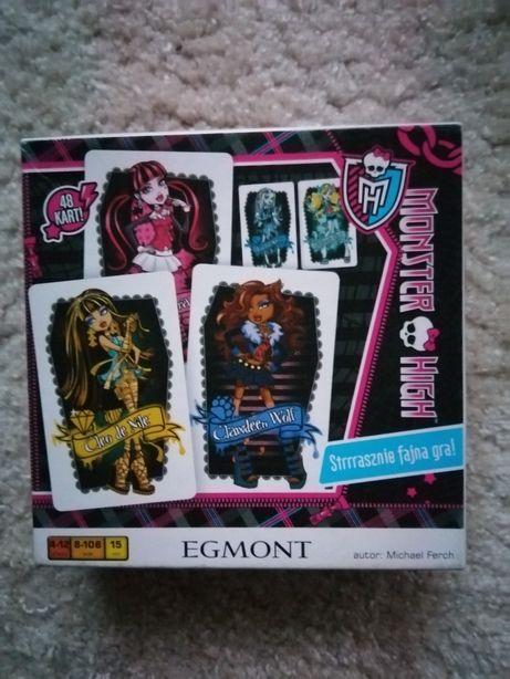 Gra monster high karty Egmont