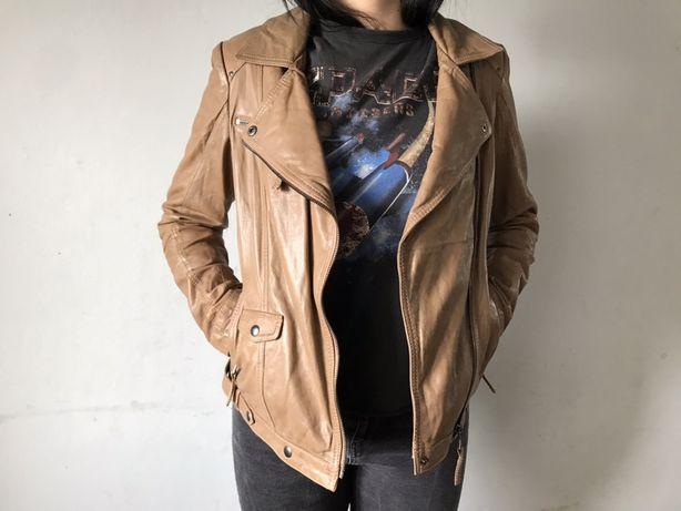 Женская кожаная курточка bogner burberry tcm tchibo