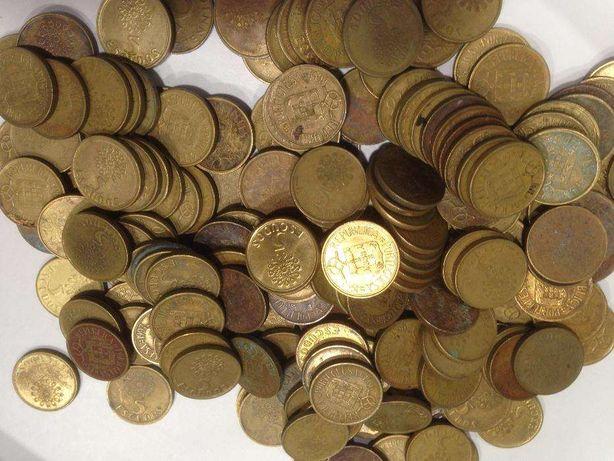 Moedas de 5$00 Latão/Niquel ao Kilo