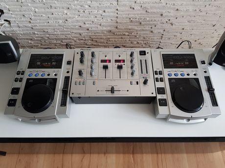 Konsola Pioneer 2 x cdj 100s oraz djm 300s Zestaw