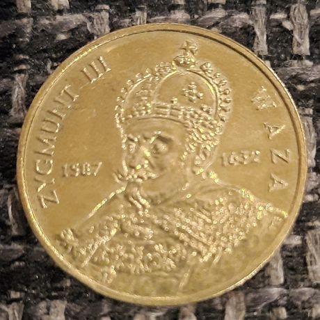 Moneta 2 zł Zygmunt 3 Waza