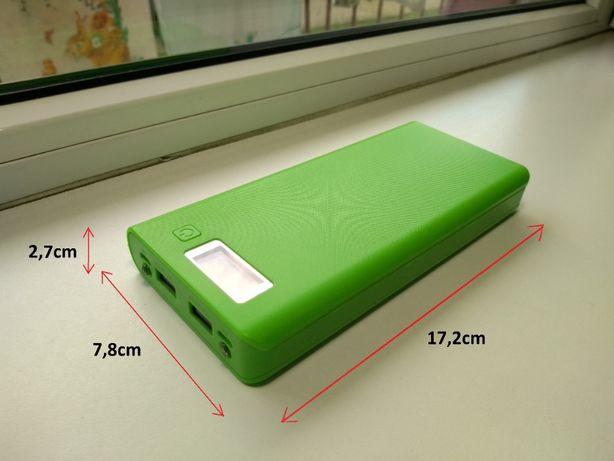 Powerbank 26 000mAh funkcja podwójnej latarki wyświetlacz LCD