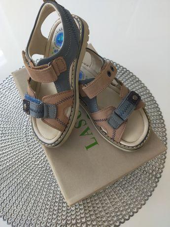 Sandałki Lasocki skórzane