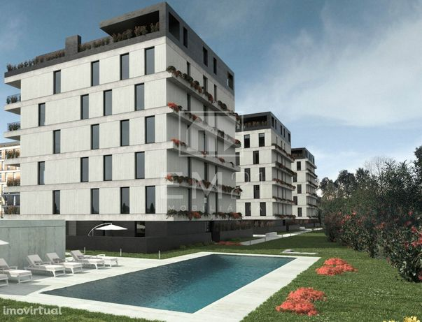 Apartamento 3 quartos próximo ao estádio do Braga - condomínio fechado