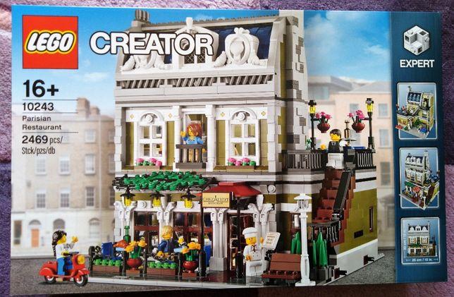 Zestaw klocków Lego nr.10243.Nowe.Paryska restauracja.