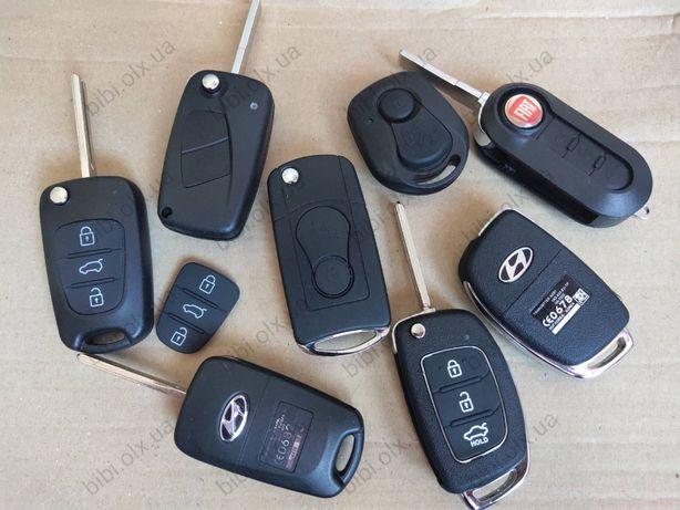 Корпус ключа Hyundai,Kia,SsangYong,Fiat,Suzuki,VW,BMW,Peugeot,кнопки