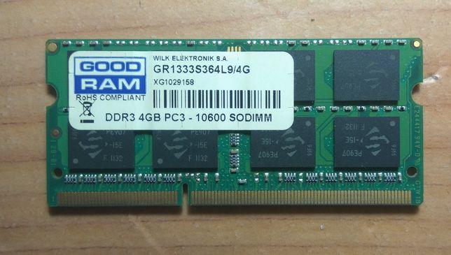 Память для ноутбука DDR-3 4 gek