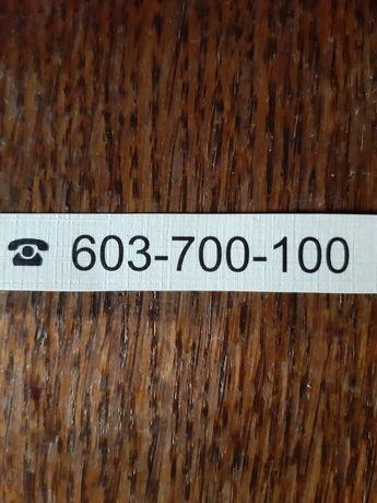 ZŁOTY numer sprzedam.