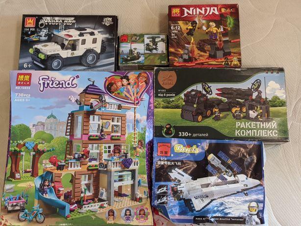 Lego набор Лего аналог briks полицейская ракетный комплекс шатл