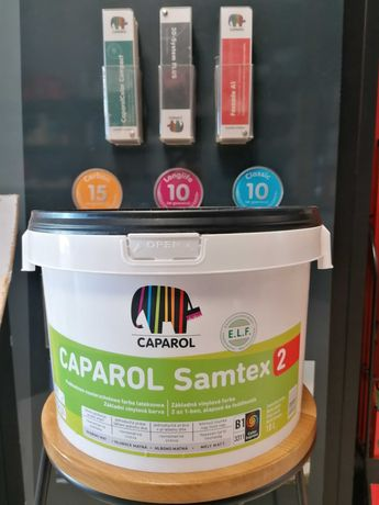Caparol Samtex 2 E.L.F Biały 10L
