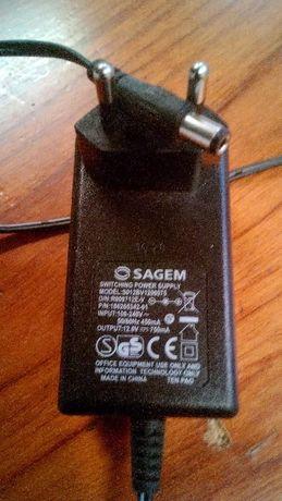 Carregador Sagemcom 12v Power Supply- S012BV12