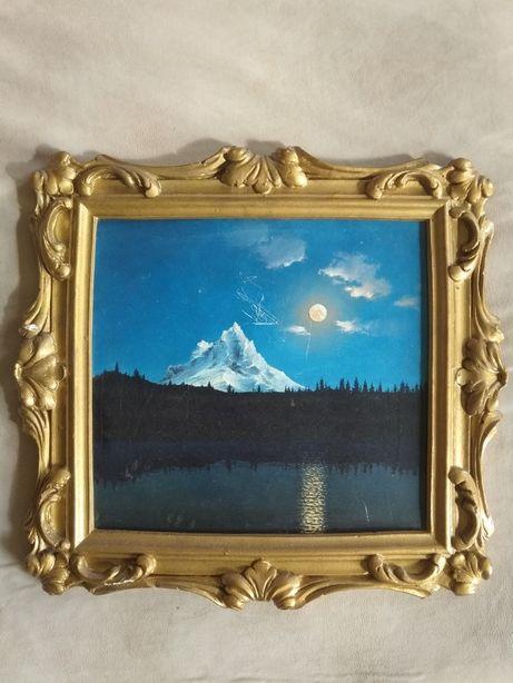 Картина Северная Америка. Озеро Орегон.