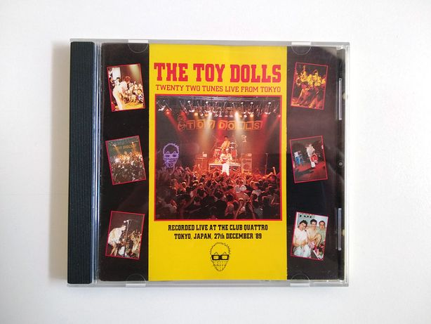 The Toy Dolls - Twenty Two Tunes Live from Tokyo (CD)