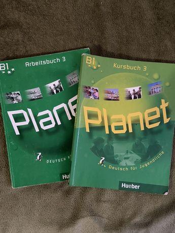 Продам учебник и рабочую тетрадь Planet B1