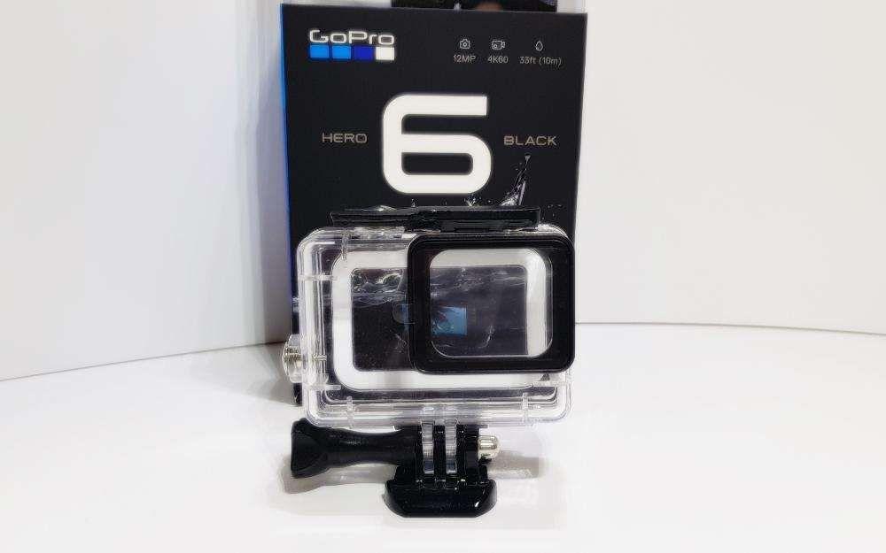 Caixa Estanque Gopro Hero 6 Black- Sem tirar lente -Novo-Portes Gratis Faro - imagem 1