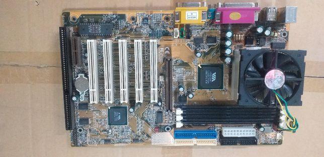 MotherBoard SHUTTLE AV18V31 Socket370 SDRAM ISA PCI