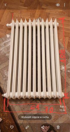 Grzejnik żeliwny wysoki 108 cm - 15 pln za żeberko