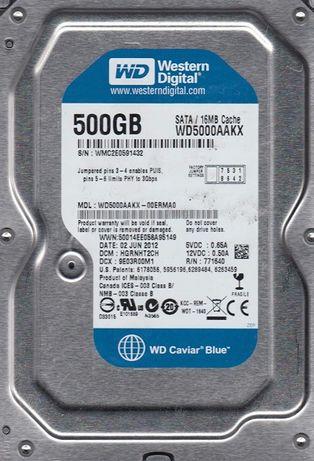 Жесткий диск 3.5' SATA 500 Gb WD WD5000AAKX-00ERMA0
