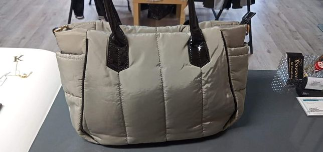 torba kurtkowa nowa kolor khaki
