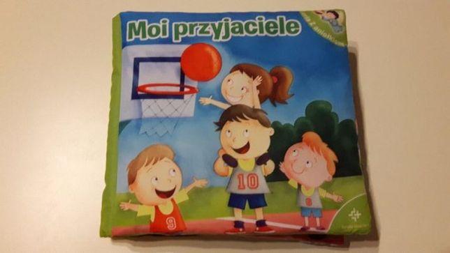 Książeczka dla dzieci materiałowa szeleszcząca
