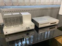 Ламповый усилитель Luxman SQ-N100 + CD проигрыватель Luxman D-N100