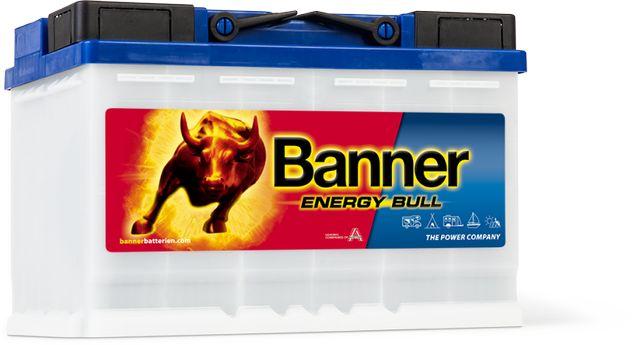 Banner 80 Ah Energy łódka Kamper