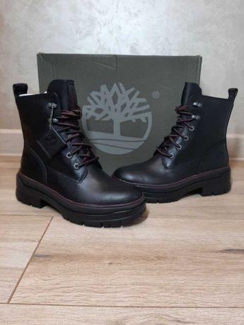 Ботинки шкіряні/кожанные Timberland (оригінал) US 8 (25 см)