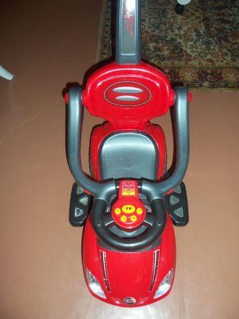 Каталка-толокар Bambi родительская ручка Красный 800 грн.