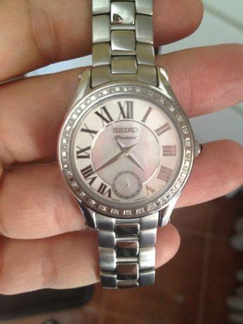 Relógio Seiko com Diamantes