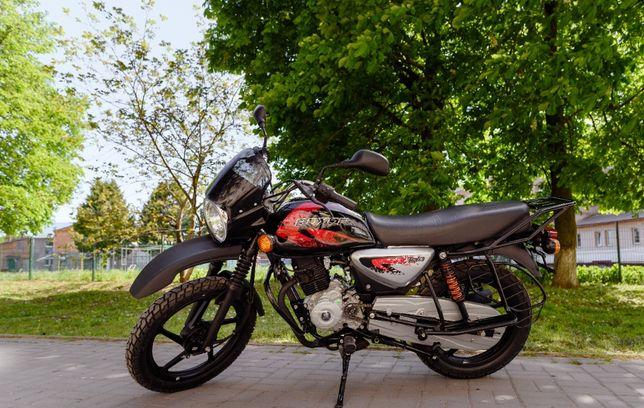 Мотоцикл НОВИЙ Bajaj Boxer 125 Баджадж ДОСТАВКА БЕЗКОШТОВНА! Кредит!