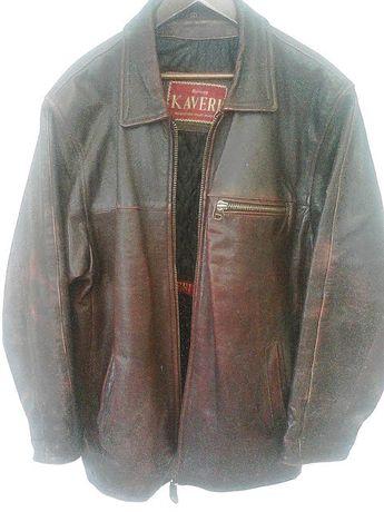 """Куртка кожаная мужская,""""KAVERI"""",Турция,54-56 размер."""