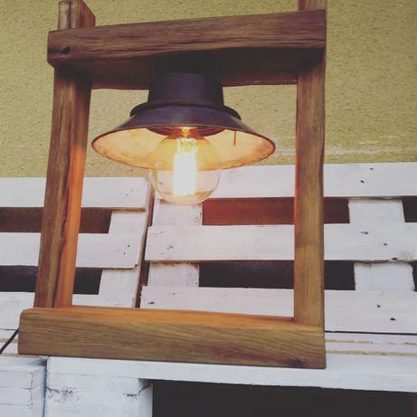 Lampka z części i nie tylko