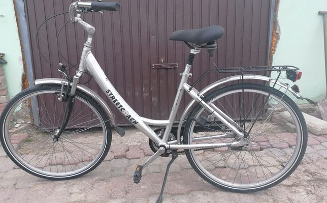 Rower aluminiowy bardzo lekki
