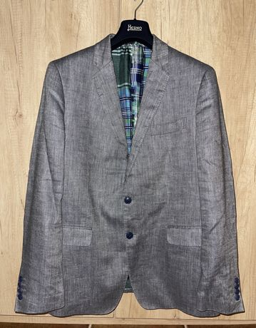 Пиджак из льна и шелка Etro Оригинал