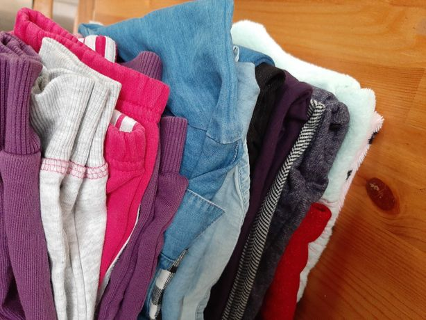 Ubranka dla dziewczynki 4-5 lat, 14szt.