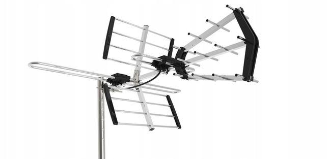 Antena AX GALAXY Combo Premium VHF-UHF Mux-8 Dvb-t