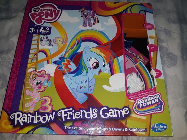 Zestaw My Little Pony-gra planszowa i puzzle 9 in 1