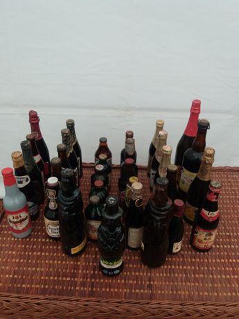 Garrafas de cerveja muito antigas
