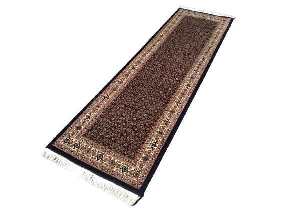 Perski Tabriz 40 Raj! Chodnik Oryginał Ręcznie Tkany Wełniany dywan