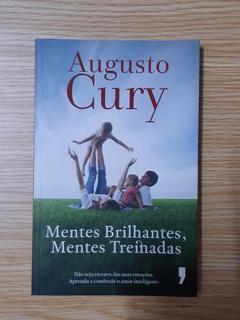 """Livro de Augusto Cury """"Mentes brilhantes, mentes treinadas"""""""