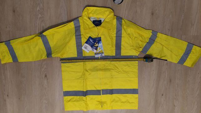 Klasyczna kurtka przeciwdeszczowa ostrzegawcza