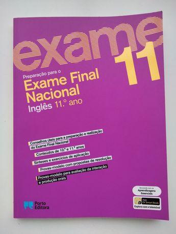 Livro Preparação para o Exame Final Nacional Inglês 11°Ano 20/21