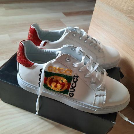 Кроссовки кросівки  Gucci р.39-40 новые супер качество