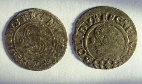 **SN 2 x szeląg Zygmunt III Waza 1626 , 2 odmiany