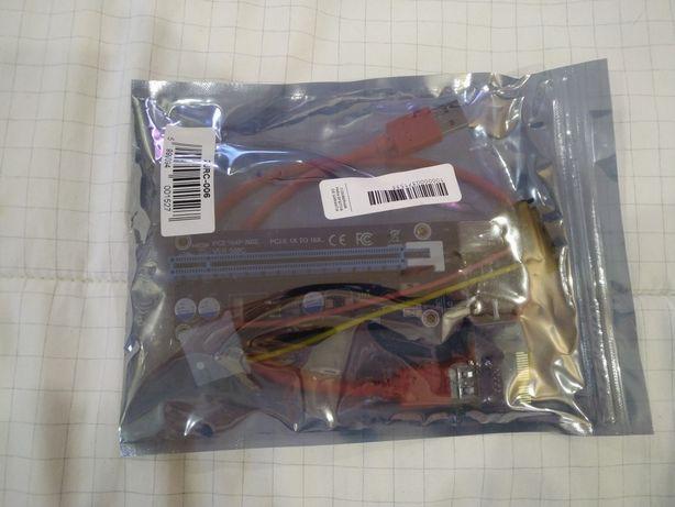 Riser kolink PCI-E 16x USB mining