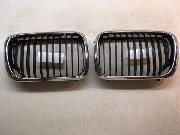 Ноздри (решётка радиатора) для БМВ Е36 (хромовые,чёрные,ориг/не ориг)!