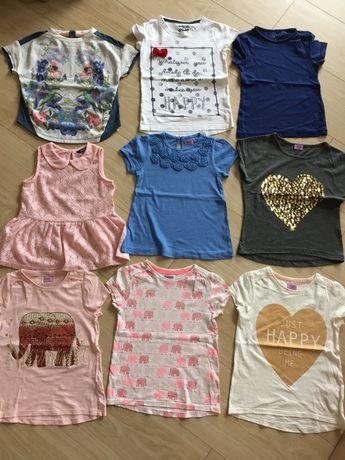Zestaw bluzeczek rozmiar 116