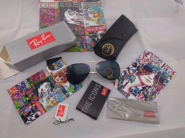Ray ban 3584 e 3025 oculos de sol pilot aviador rayban